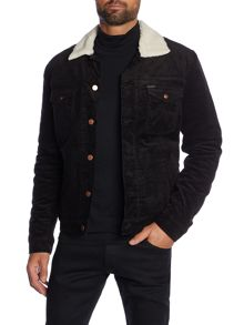 Wrangler Fleece lined corduroy sherpa jacket