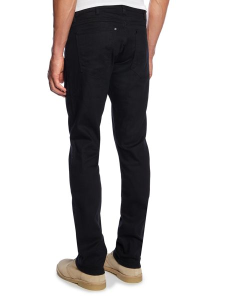 Wrangler Larston perfect black slim fit jeans