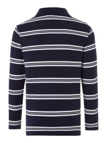 Lacoste Boys Fine Stripe Polo Shirt
