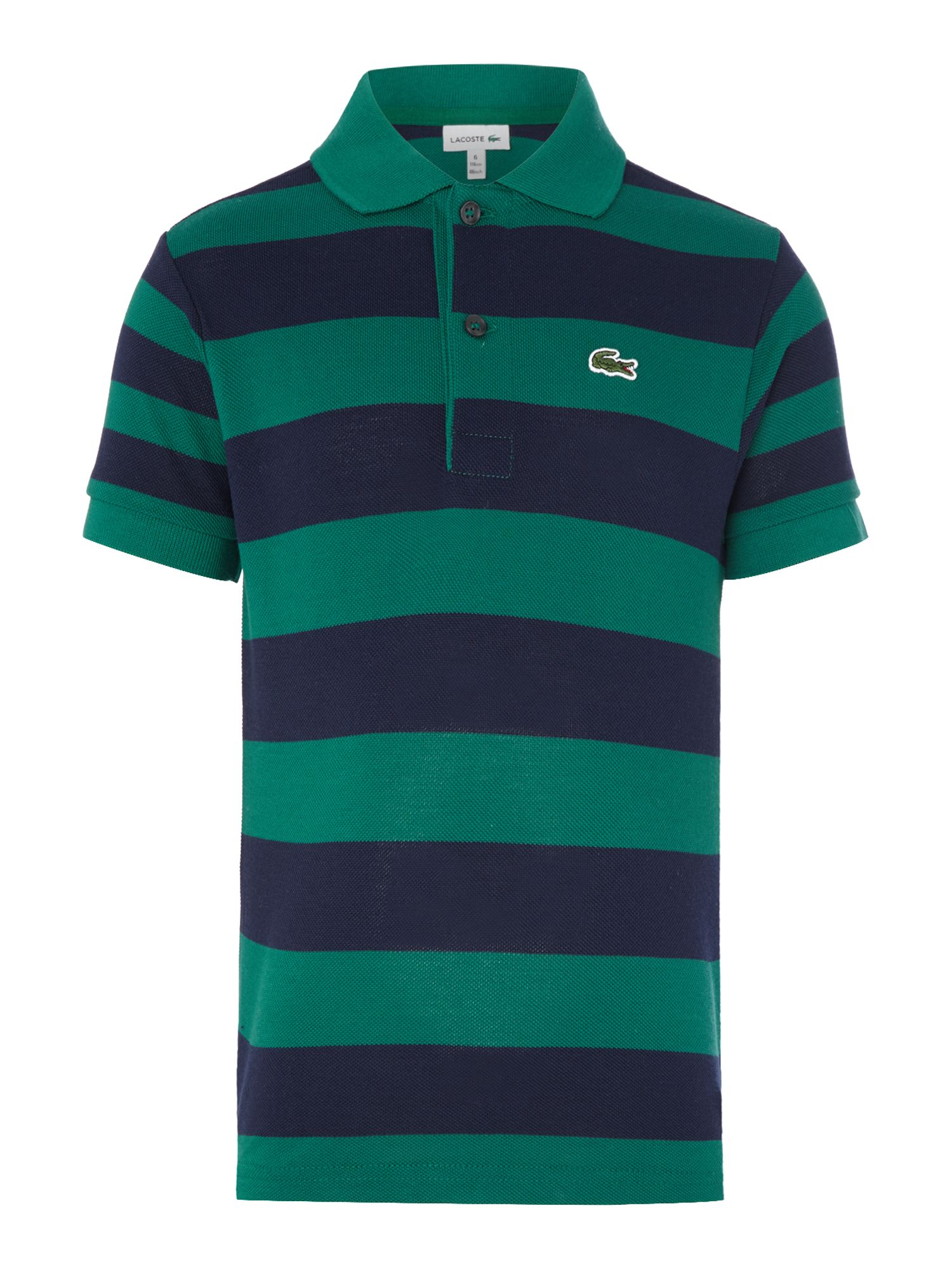 Boys striped polo shirt house of fraser for Boys striped polo shirts