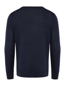 Lacoste Boys Crew Neck Logo Jumper