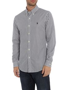 Polo Ralph Lauren Long sleeve slim fit stripe shirt