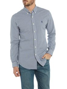 Polo Ralph Lauren Long sleeve slim fit gingham shirt