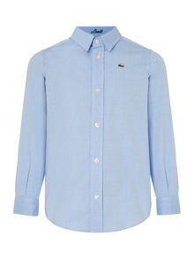 Lacoste Boys Long Sleeve Oxford Shirt