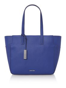 Calvin Klein Nina blue large tote bag
