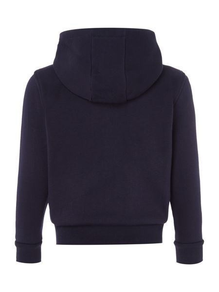 Lacoste Boys Zip Through Hooded Sweater