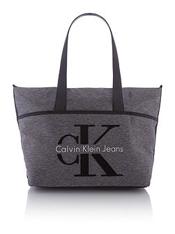 Re-issue grey large tote bag