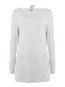 Oui Tie back sweater