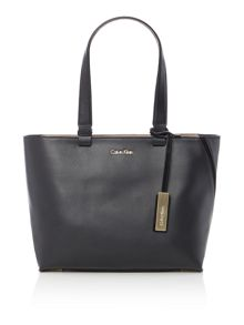 Calvin Klein Julia black medium tote bag