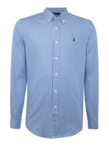 Polo Ralph Lauren Long sleeve slim fit twill striped shirt