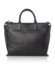 Calvin Klein Keyla black large tote bag