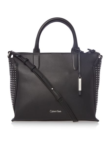 Calvin Klein Keyla plus black medium tote bag