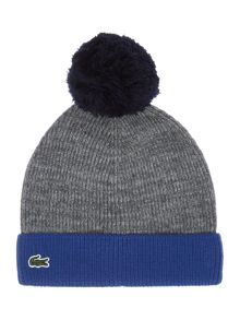 Lacoste Boys Contrast Colour Beanie Hat