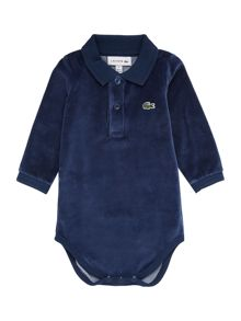 Lacoste Boys Velour Bodysuit Gift Box