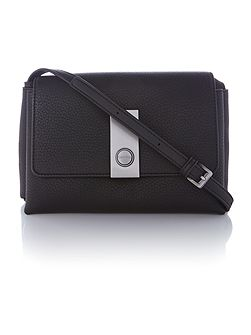 Carrie black small crossbody bag
