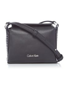 Calvin Klein Keyla plus black small crossbody bag