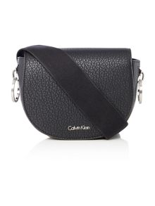 Calvin Klein Quinn black small crossbody bag
