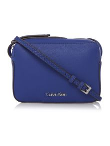 Calvin Klein Nina blue small crossbody bag