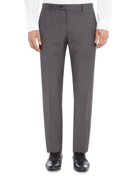 Corsivo Arzo Italian Wool Textured Suit Trouser