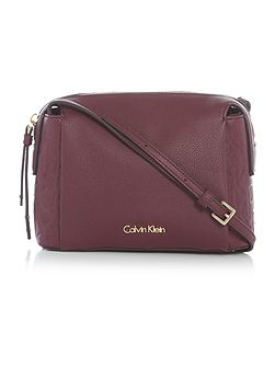 Misha burgundy small crossbody bag