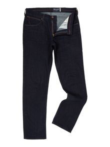 Wrangler Greensboro rinse broke regular fit jeans
