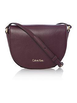 Keyla burgundy small crossbody bag