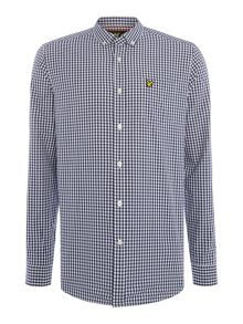 Lyle and Scott Gingham Check Long Sleeve Shirt