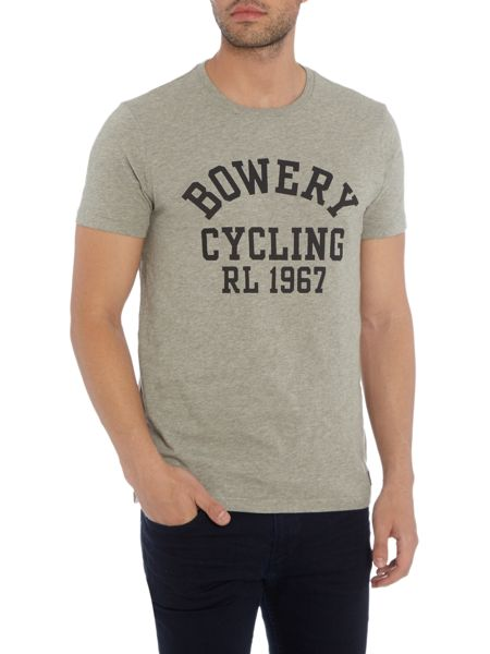 Polo Ralph Lauren Bowery cycling print crew neck t-shirt