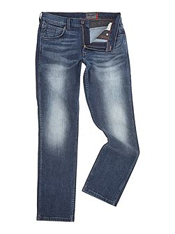 Greensboro fuzzy duck regular fit jeans
