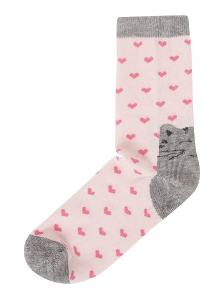 Therapy Cat heel sock