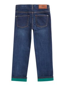 Lacoste Boys Dark Wash Jeans