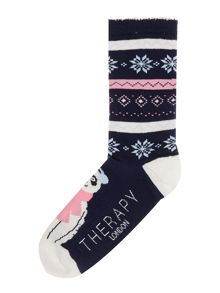 Therapy Panda toe socks
