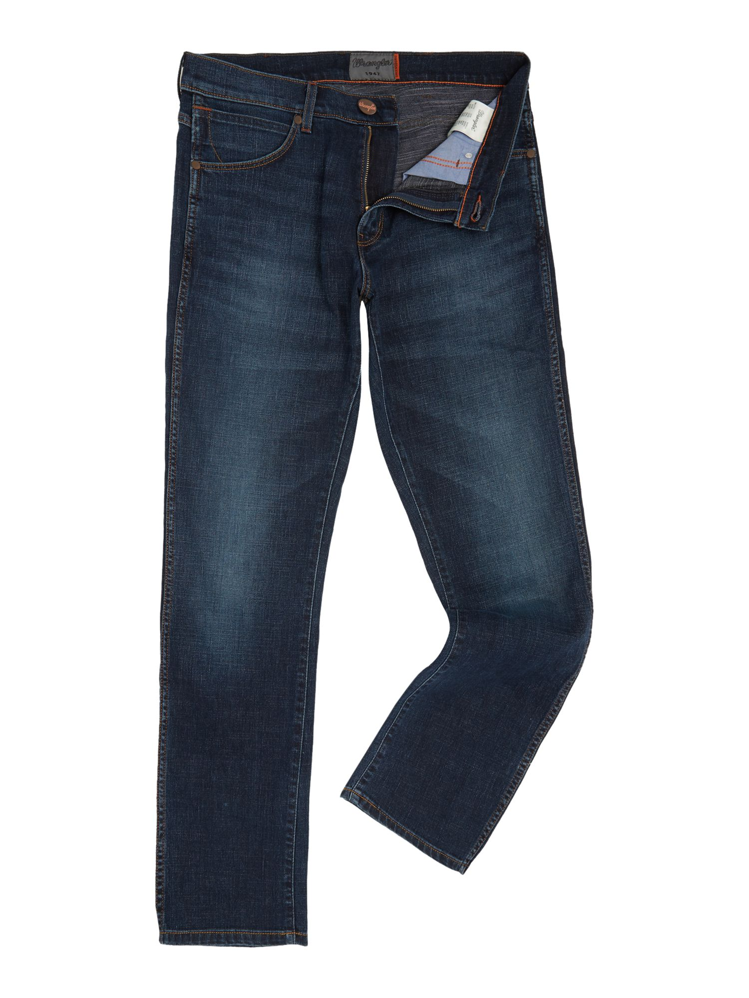 Mens Greensboro El Camino Regular Fit Jeans, Denim Mid Wash