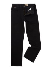 Wrangler Texas black overdye regular fit jeans