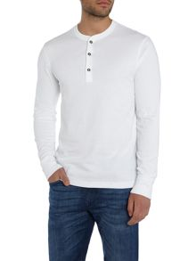 Polo Ralph Lauren Henley Cotton Long-Sleeve T-Shirt
