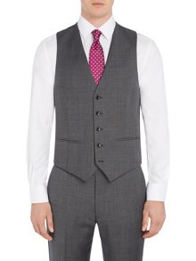 Howick Tailored Gibson Check Suit Waistcoat