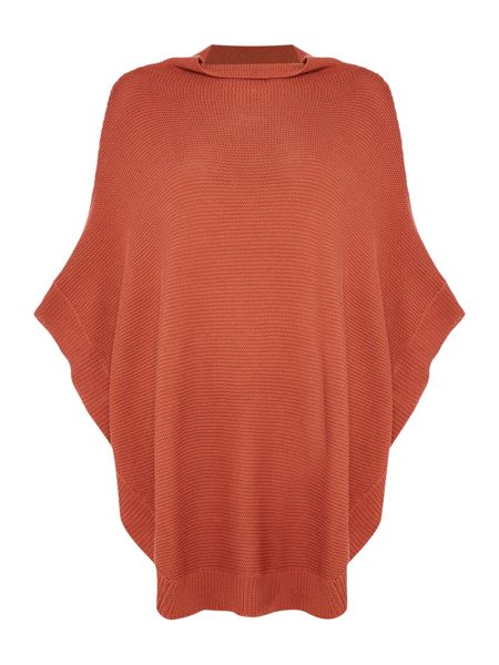 Vila High Neck Poncho