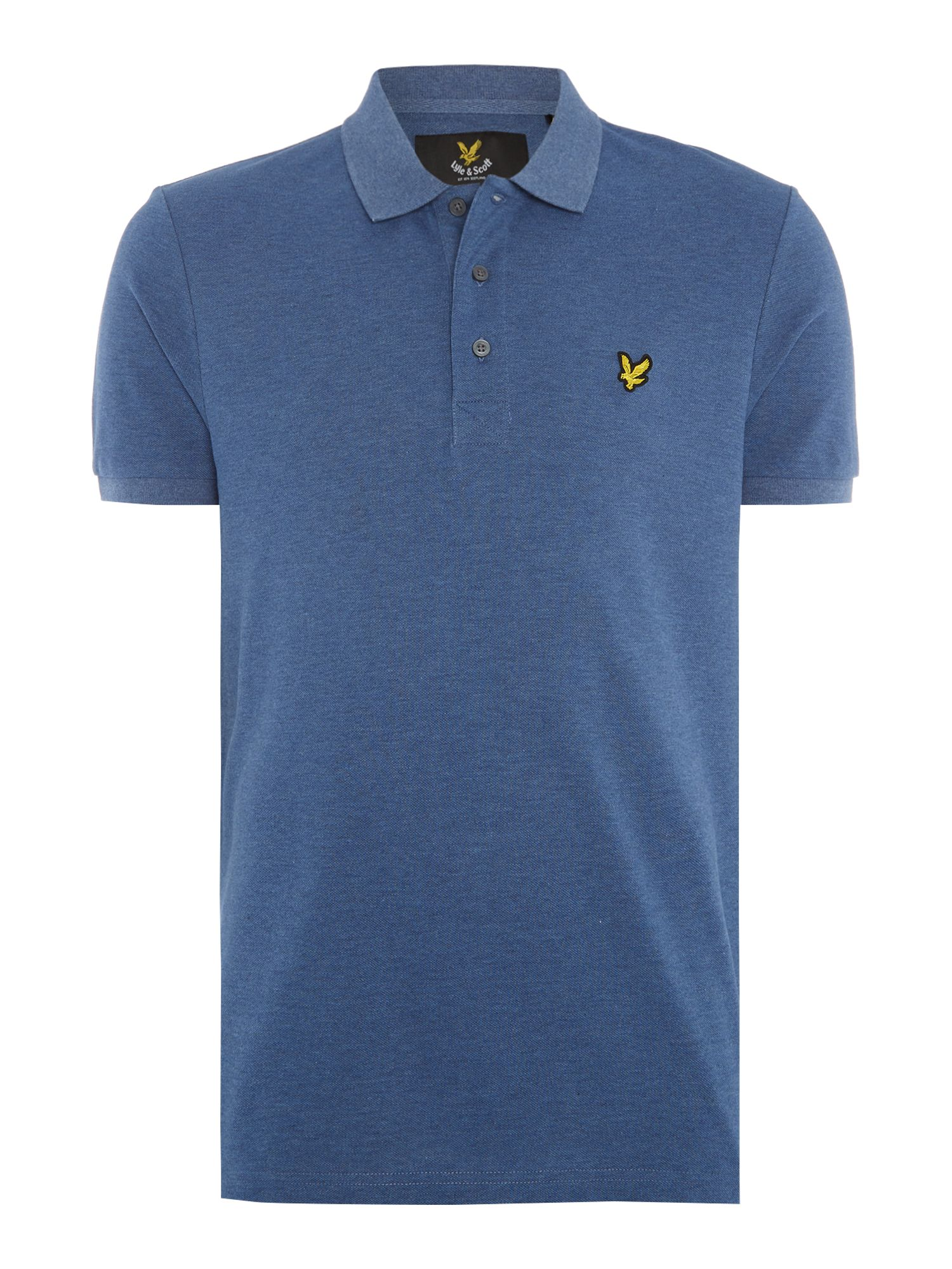 Men's Lyle and Scott Short Sleeve Classic Polo, Indigo