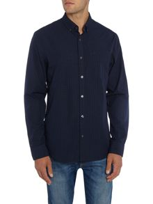 Original Penguin Gingham Yarn Dyed Long Sleeve Shirt