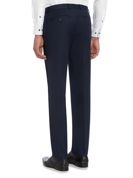Kenneth Cole Rivington Slim Fit Birdseye Suit Trouser