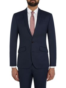 Kenneth Cole Rivington Slim Fit Birdseye Suit Jacket