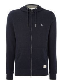 Original Penguin Loop Back Hooded Marl Sweatshirt