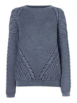 Denim Wash Jumper