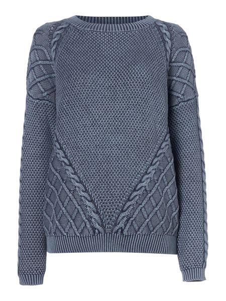 Maison De Nimes Denim Wash Jumper