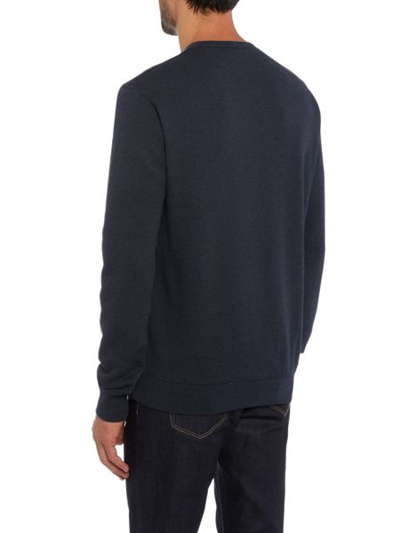 Original Penguin Loop Back Crew Neck Marl Sweatshirt