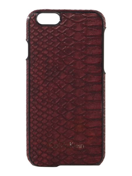 Calvin Klein Poppy burgundy iphone 6 case
