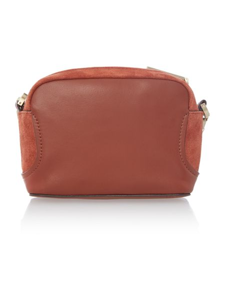 Calvin Klein Carolyn tan small crossbody bag