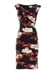 Linea Printed shutter dress