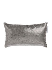 Kylie Minogue Aurora pewter 18x32cm cushion