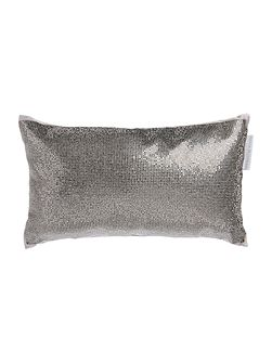 Aurora pewter 18x32cm cushion